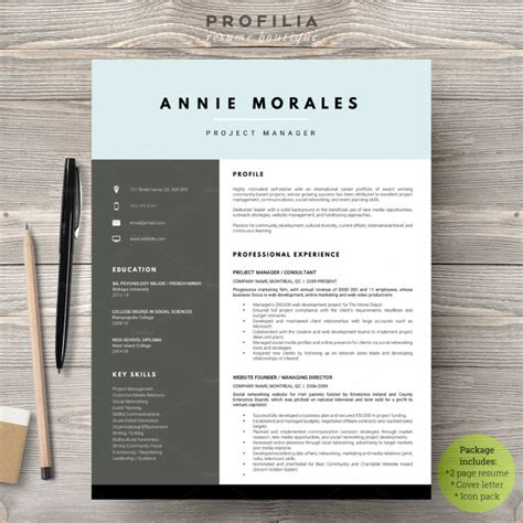 eps format from word 20 resume cover letter template word eps ai and psd