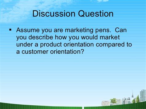 Mba Orientation Programme Ppt by What Is Marketing Ppt Mba