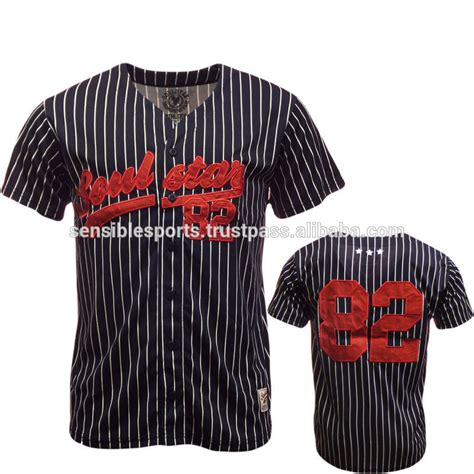 2012 design your own blank baseball jersey uniform shirt pin strip sublimation baseball jersey with tackle twill