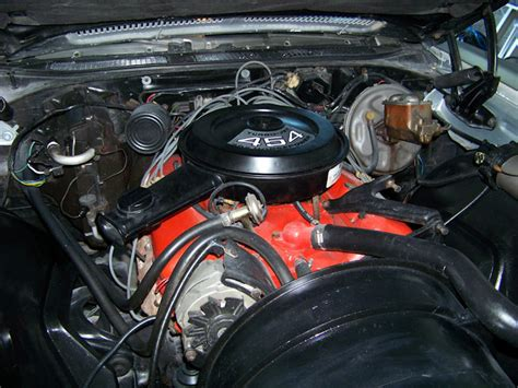 1971 Chevelle Engine Photos