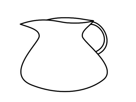 water jug coloring page water clipart black and white clipart panda free