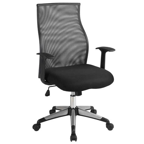 tenafly mesh desk chair image of mesh seat office chair fabric flash furniture mid