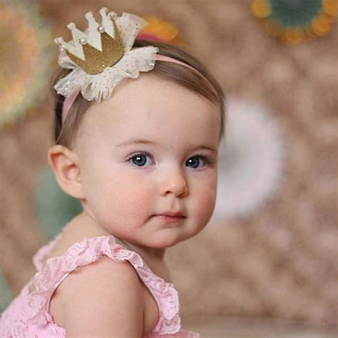 adorable baby headband kylah s baby blues by baby toddler lace crown hair band headwear