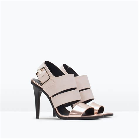 zara high heels sandals zara trf high heel sandals trf high heel sandals in pink