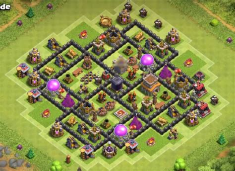 best th8 base 10 best town hall th8 farming bases 2017 cocbases