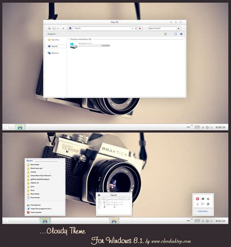 themes for windows 8 1 apple cloudy mac theme for windows 8 1 by cleodesktop on deviantart