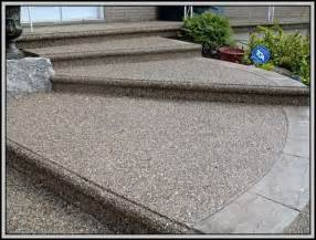exposed aggregate concrete patio home design ideas and