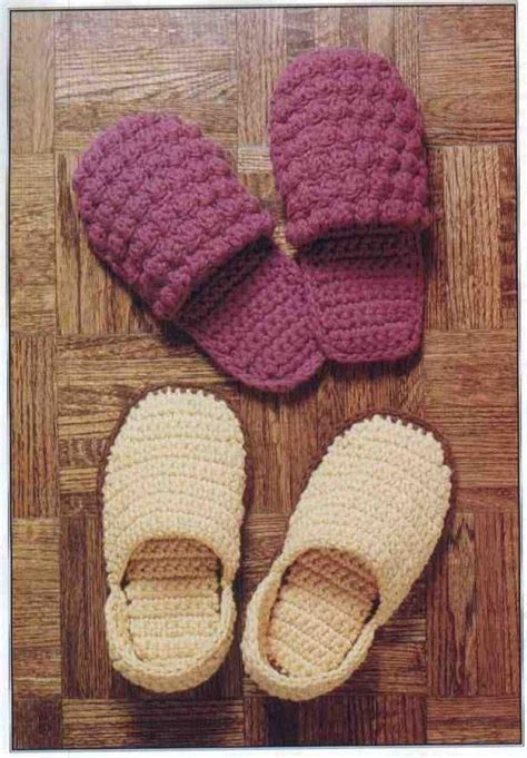 crochet slippers patterns 10 crocheted mother s day gifts crochet and knitting