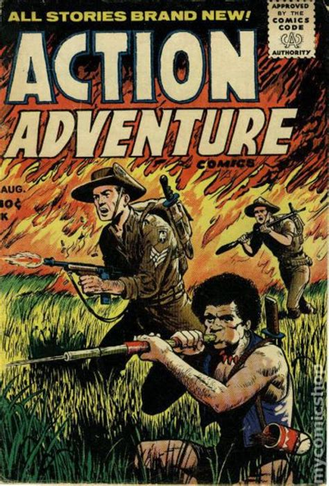 adventure picture books adventure 1955 comic books