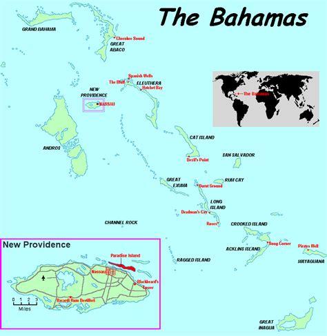 map usa bahamas paradise island