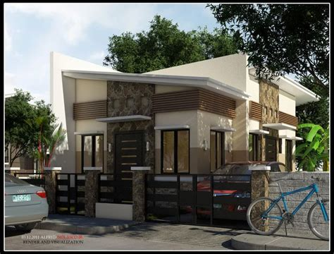 contemporary bungalows modern bungalow house in the philippines image 6 home