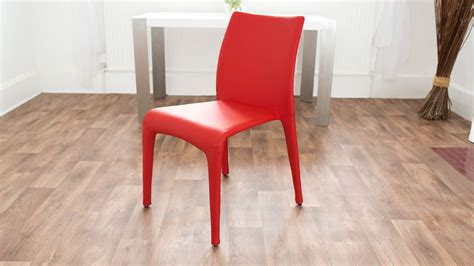 White Dining Table And Coloured Chairs Modern White Oak Dining Table Glass Legs Coloured Faux Leather Chairs