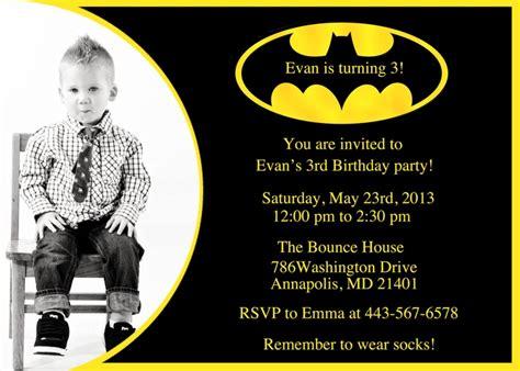 free batman invitation template batman birthday invitation printable by