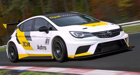 opel astra touring car opel astra tcr gets previewed will cost 95 000