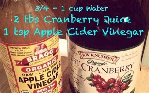 Cranberry Juice Detox For Acne by The Best Way To Drink Apple Cider Vinegar Recipe