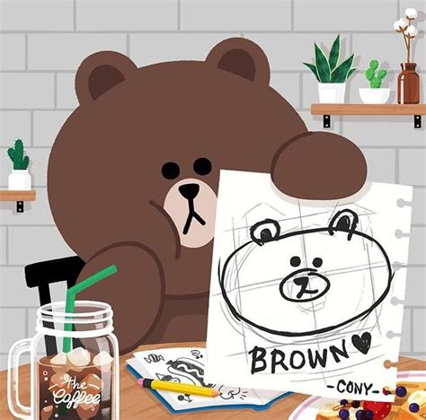 Line Friends Brown 70 best line friends images on line friends