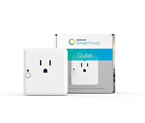 samsung smartthings outlet works with home