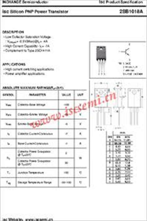 transistor d998 datasheet 2sb407 datasheet silicon pnp power transistors