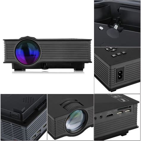 Uc46 Uc 46 Proyektor Uc 46 Mini Projektor Murah Projector Infok unic uc46 mini portable projector hd 1080p support blue 3d effect with wifi connection
