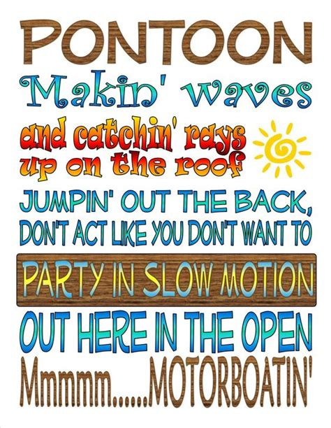 pontoon country song pontoon quotes pinterest the roof summer and
