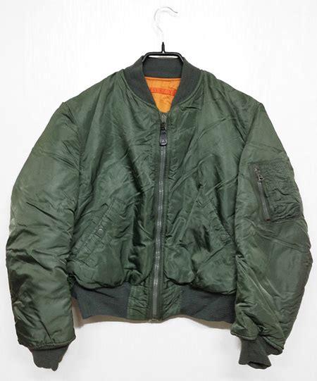 Jaket Harajuku Dc Finger Navy history of the bomber jacket