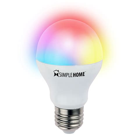 Multicolor Led Light Bulb Multicolor Smart Wi Fi Led Bulb Go Simple Home