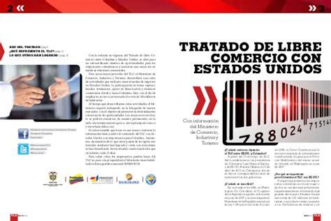 tlc colombia estados unidos y su incidencia en el sector tlc colombia estados unidos
