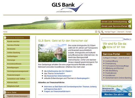gls bank ethische soziale und 246 kologische anlageformen und konten