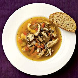 wild rice chicken soup cooking light wild rice and mushroom soup with chicken 100 healthy