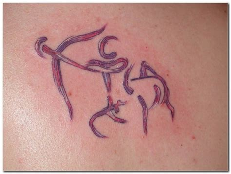 sagittarius sign tattoo an original sagittarius
