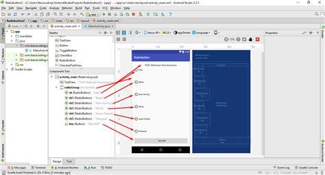 cara membuat html radio button cara membuat radio button di android studio lengkap baca