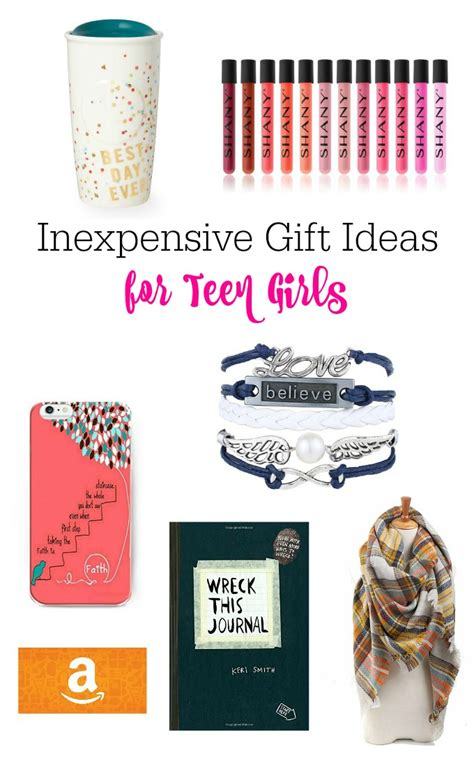 inexpensive gift ideas for teen girls