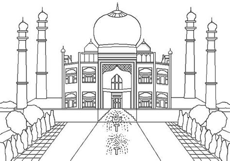 free coloring book india pages at interior tablet