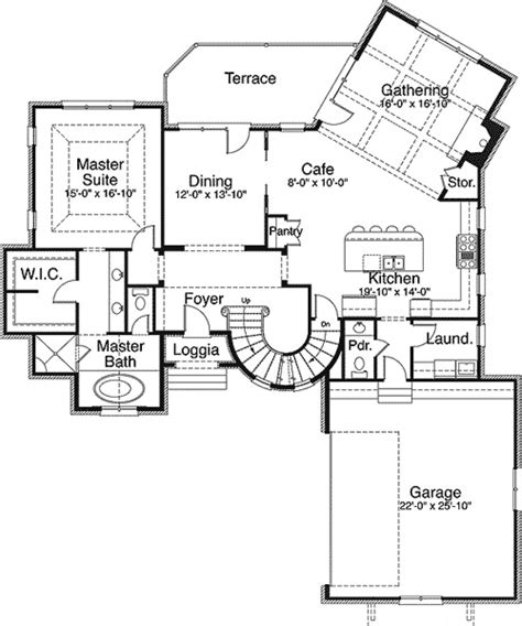 fairy tale house plans plan w29503nt fairy tale home plan