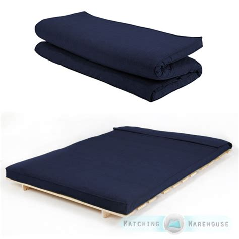 double futon mattress cover foldable futon bed