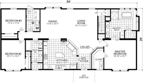 awesome live oak mobile home floor plans new home plans