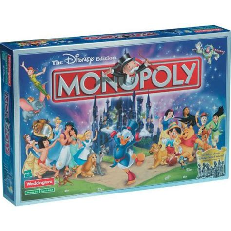 Monopoly Disney family with disney board orlandotastic