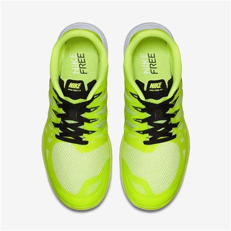 Nike Running 5 0 nike mens free 5 0 running shoes volt tennisnuts