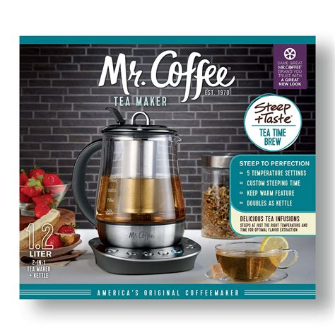 Coffee And Tea Maker mr coffee 174 tea maker and kettle