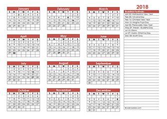 printable calendar 2018 thailand 2018 christian festivals calendar template free