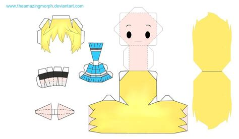 Chibi Papercraft - chibi papercraft by theamazingmorph on deviantart