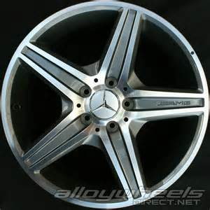 Mercedes Alloy Wheels 18 Quot Amg Vi Wheels In High Sheen With Titanium Grey Alloy