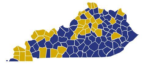 kentucky election map by county file kentucky republican presidential caucuses election