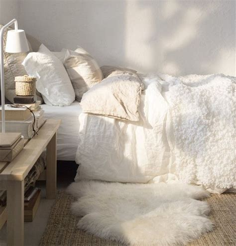 Chic Shaggy Rugs Inspiration For by 17 Ways To Make Your Bed The Coziest Place On Earth