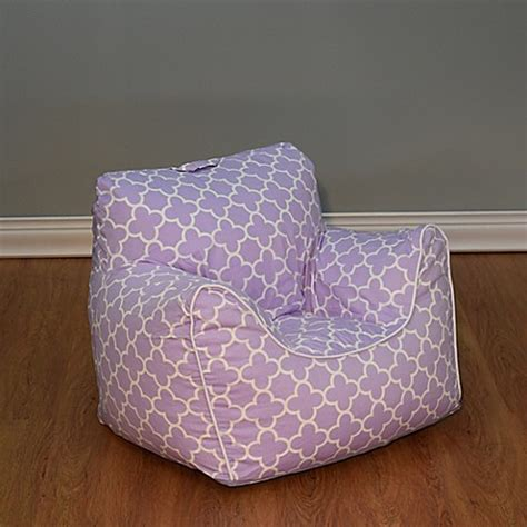 structured bean bag chair structured bean bag chair with removable cover in lavender
