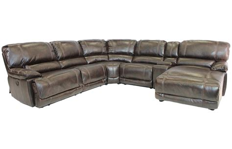 air sectional azul air brown 6 piece right facing sectional mor