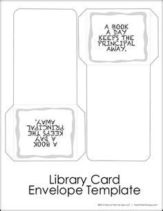 library card book pocket template free library card book pocket template printable tip