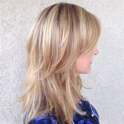 Layered Hairstyles For Medium Hair At Home by Hairstyle For Medium Layered Hair Hairstyles Ideas