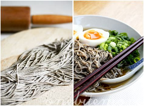 Handmade Noodles Recipe - soba noodles recipe from scratch onebitemore