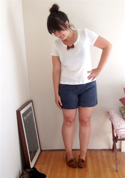 Ways To Look In Shorts by Thurlow Shorts Three Ways Sewaholic